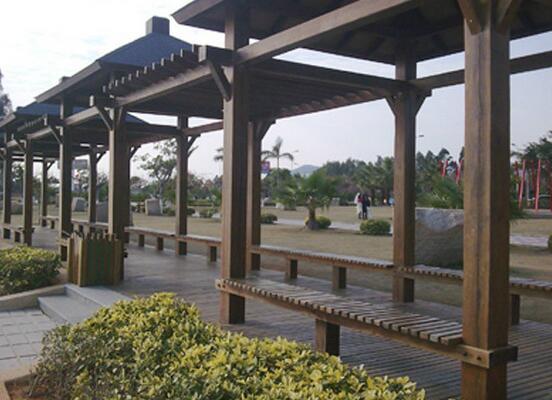 贵州景观防腐木长廊