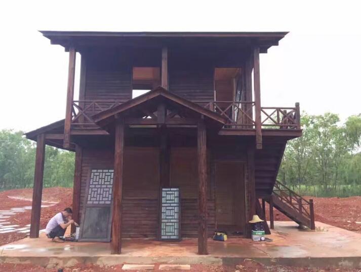贵州防腐木木屋别墅