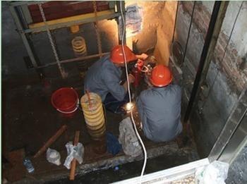 金阳电梯井防水补漏