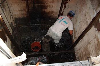 遵义花溪电梯井防水补漏
