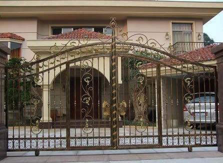 【知识】锌钢阳台护栏品牌棒棒哒 铁艺大门如何保养