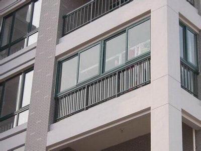 贵材铝合金封阳台