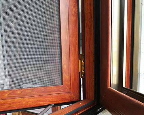 窗纱一体窗