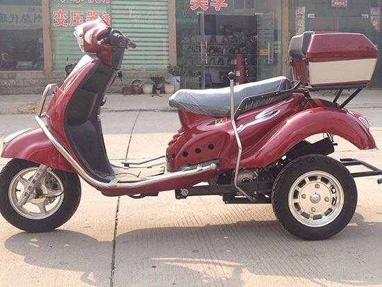 深圳残疾人摩托三轮车