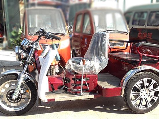 白洋淀牌残疾摩托车