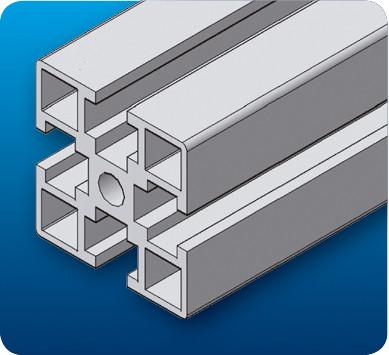 南阳工业流水线铝型材3030GA