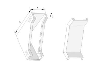 槽式垂直下弯通电缆桥架