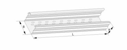 DJ型托盤式大跨距電纜橋架(A型)