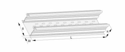DJ型托盘式大跨距电缆桥架(B型)