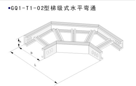梯級式直通橋架