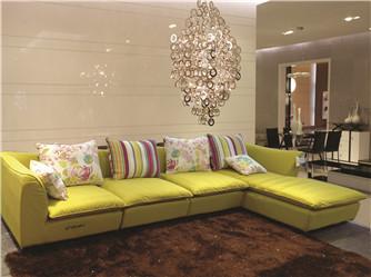 美式软体沙发