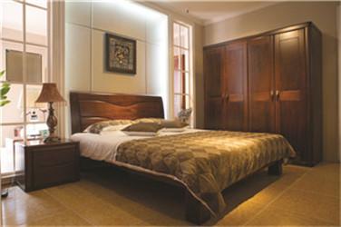 实木卧房家具