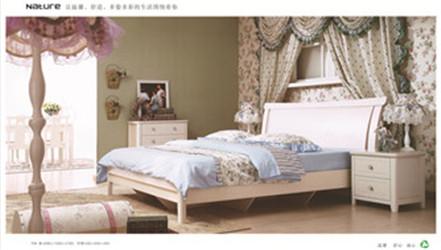 卧室板木家具