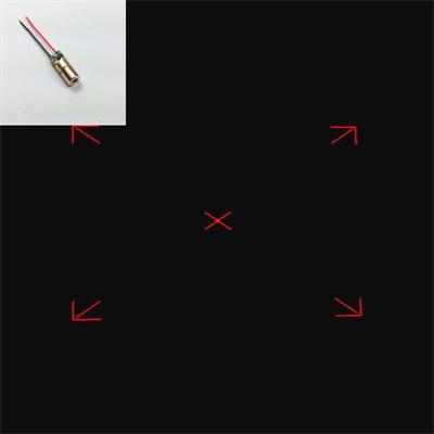 四方对焦激光器