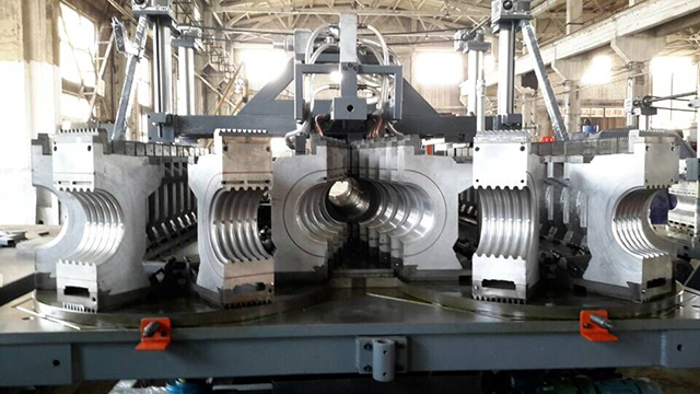 PEΦ200-500双壁波纹管成型机