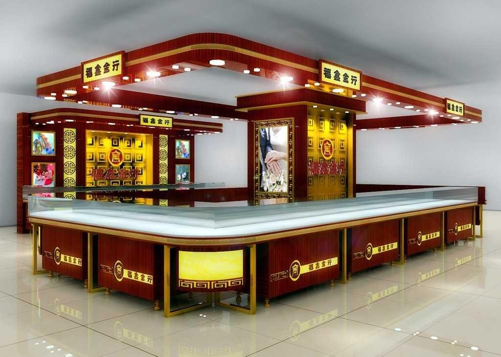 贵州贵阳珠宝展柜