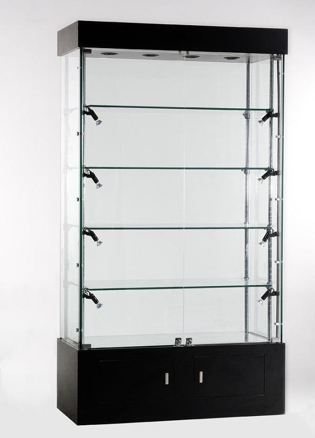 遵义安顺玻璃展柜定制