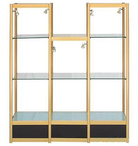 都匀安顺铝合金展柜定制