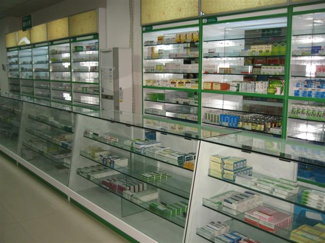 贵阳药店展柜