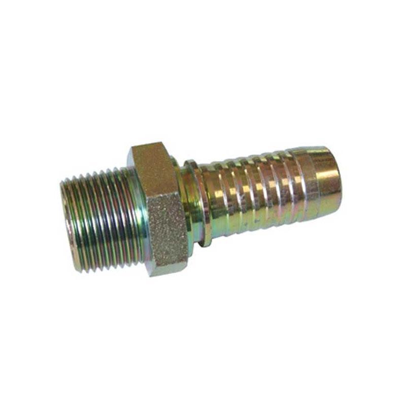 端螺纹橡胶管接头