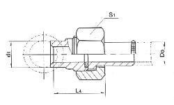 焊接式分管管接头