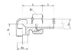 焊接式直角管接头