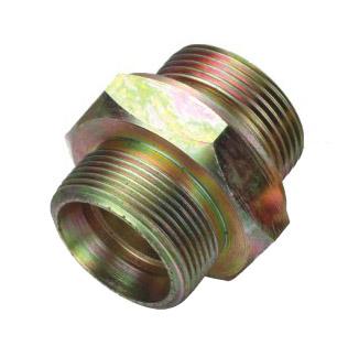 卡套式锥螺纹端直通管接头