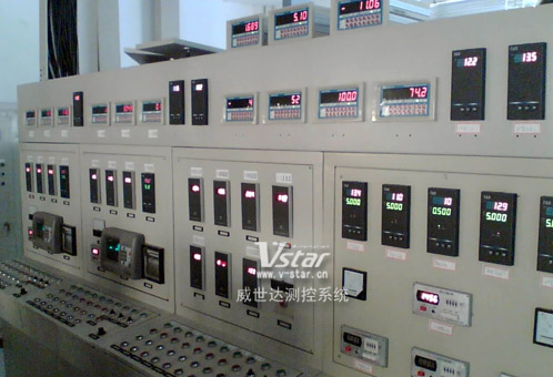电脑控制流量/温度/重量系统