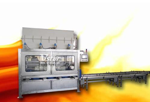 强酸 硫酸全自动灌装线