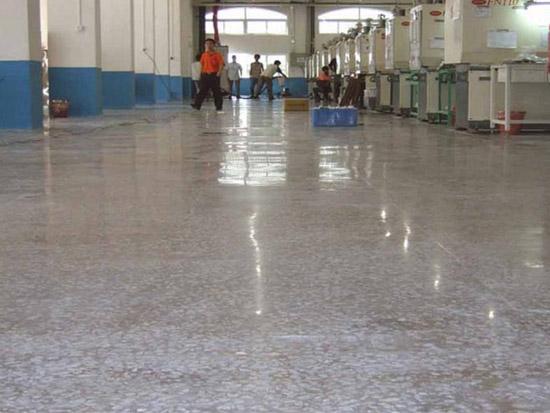 郑州固化地坪施工