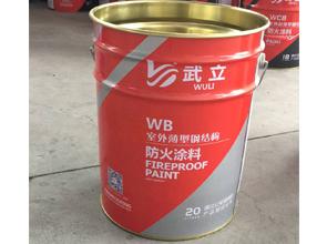 WB室外薄型钢结构防火涂料