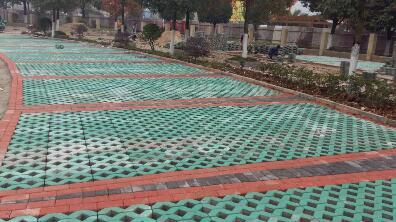 8字型草坪砖