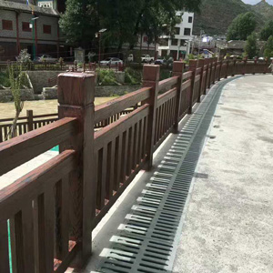 人行道栏杆