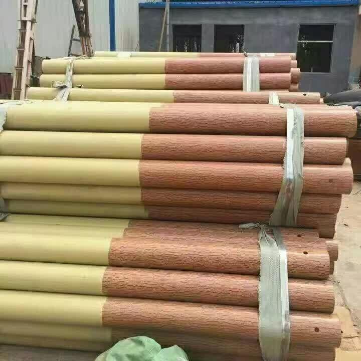 贵州复古形波形护栏立柱