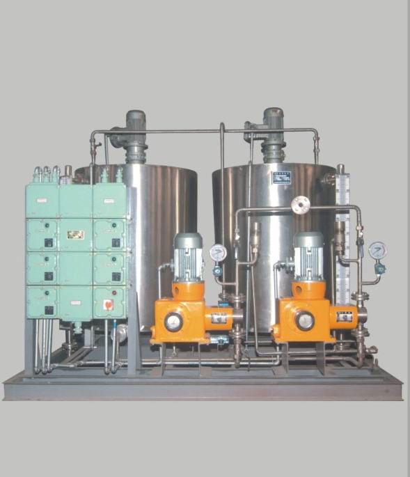 双罐双泵加药装置