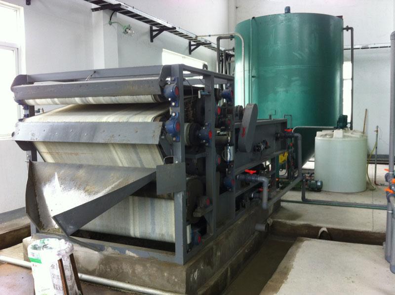 污泥浓缩带式压滤机