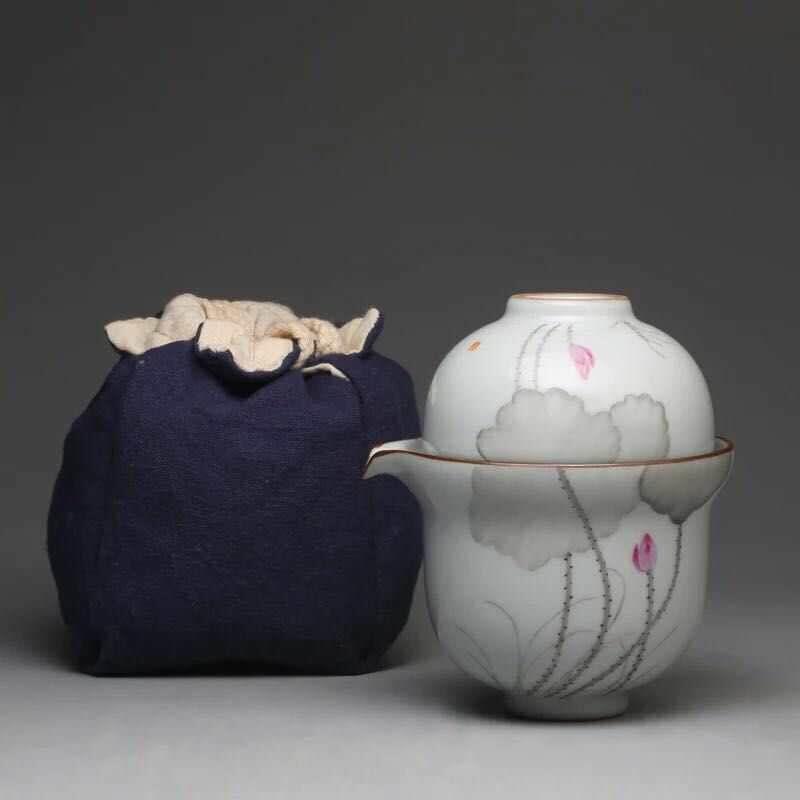 手繪玉瓷旅行套裝