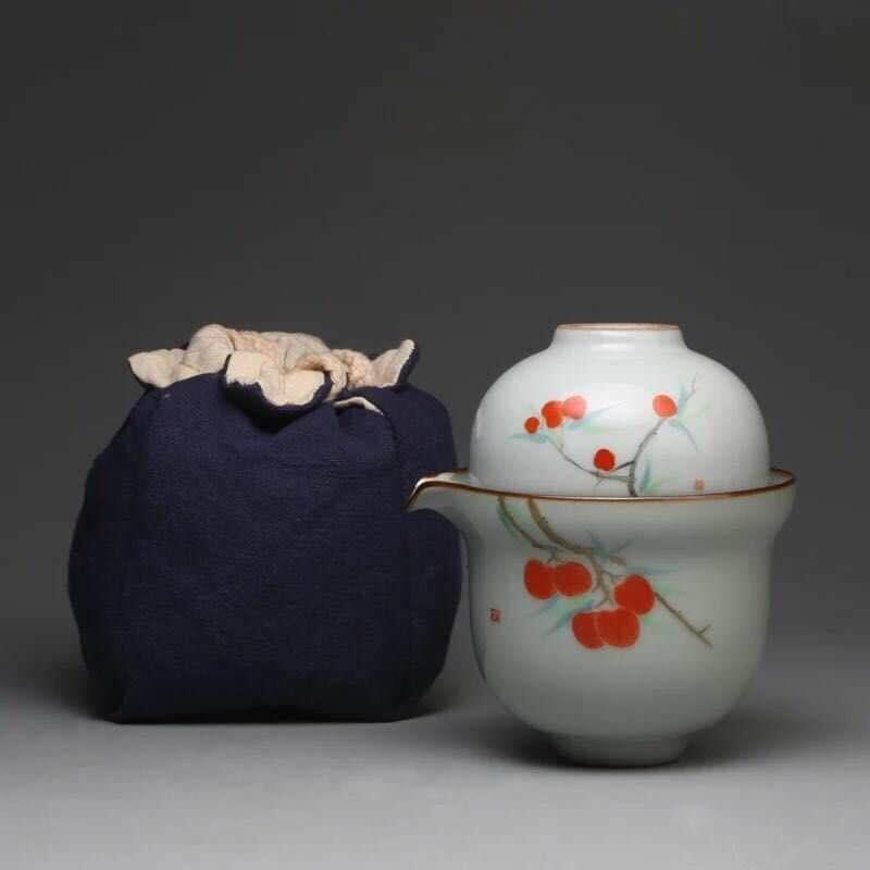 武漢手繪玉瓷旅行套裝