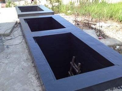 武漢污水池貼布防腐