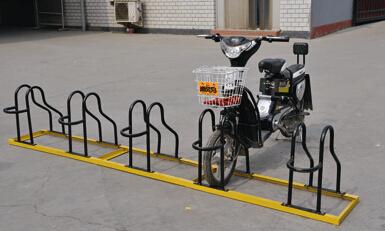 卡位自行车架