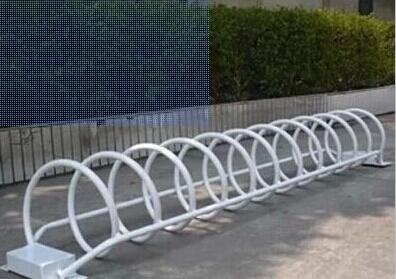 永利_螺旋式自行车停放架生产厂家