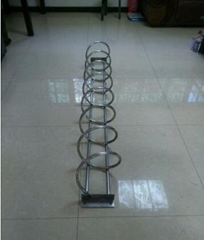 不锈钢自行车停放架