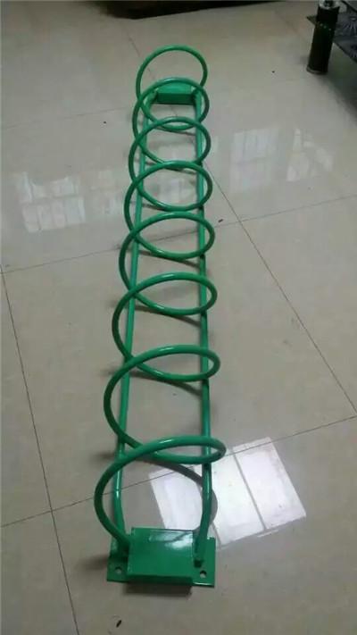 永利_螺旋式自行车停放架