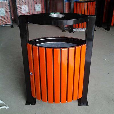 永利_钢木垃圾桶生产厂家