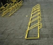 永利_卡位自行车停车架厂家