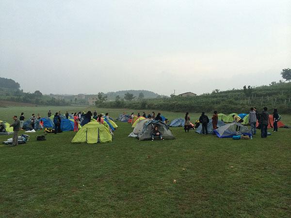 贵阳徒步露营