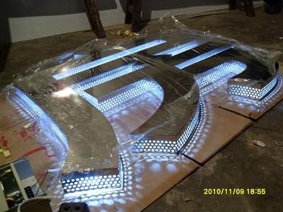 武汉发光字厂家武汉树脂发光字制作注意事项 分享武汉发光字的安装方法