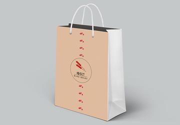 白卡纸手提袋子