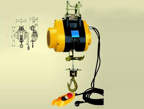 微型悬挂式电动葫芦