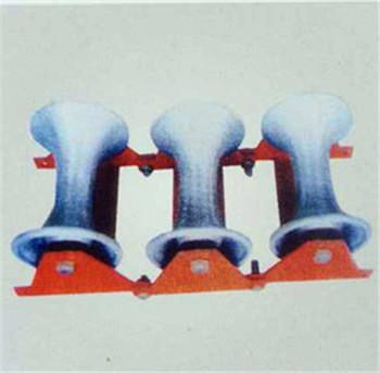铝轮三联井口滑轮